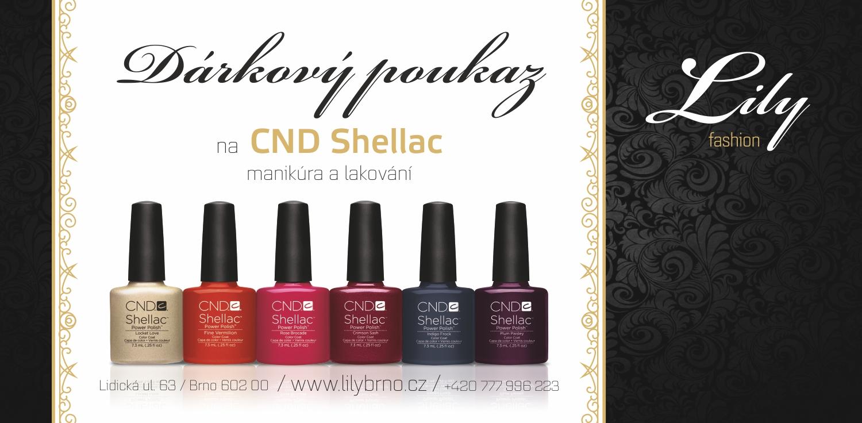 produkt_Dárkový poukaz  na lakování CND Shellac