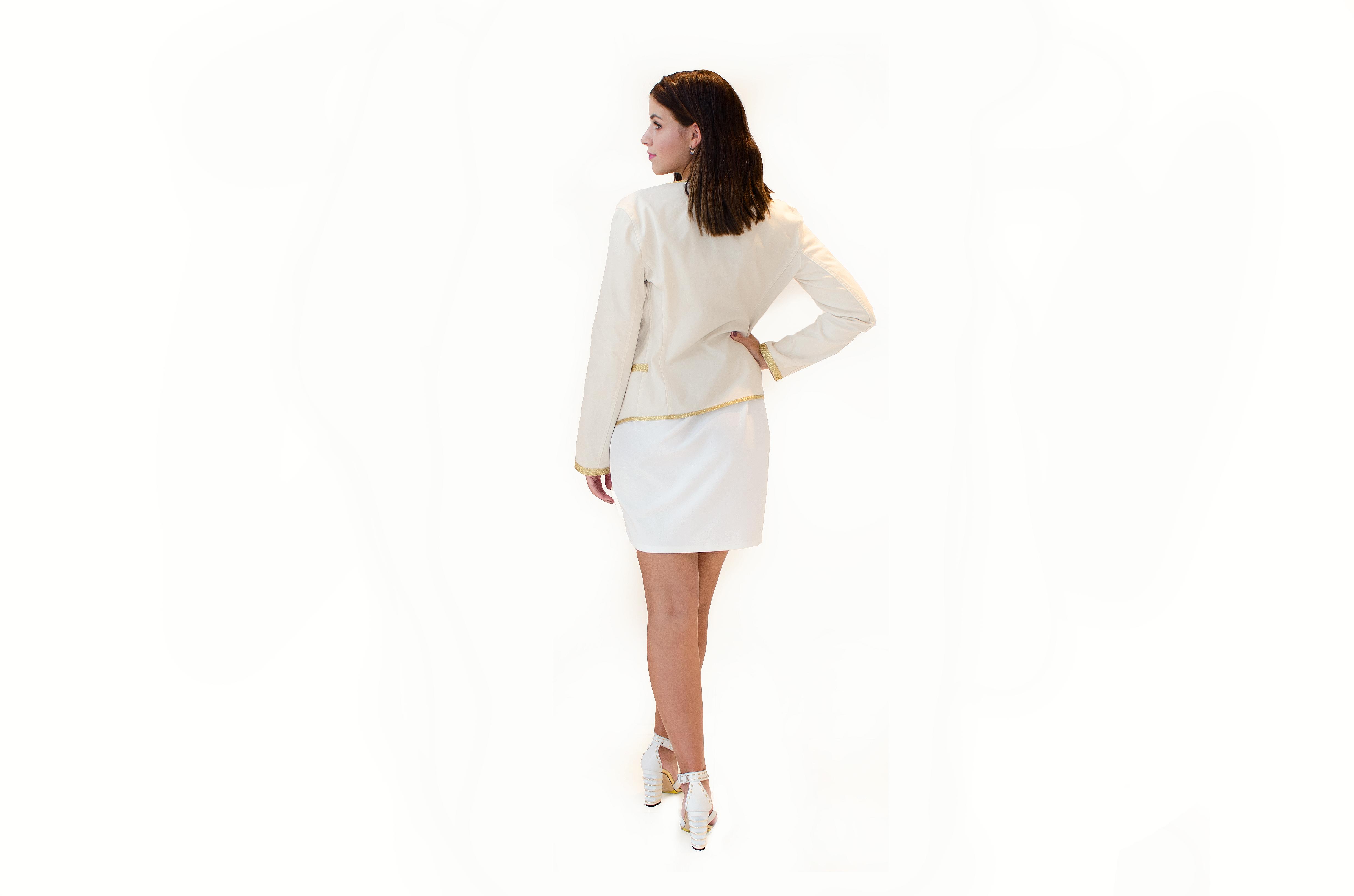 Béžové sako